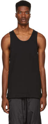 John Elliott Black Mercer Tank Top