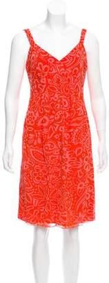 Anna Sui Silk Sleeveless Dress