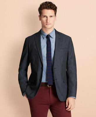 Brooks Brothers Cotton Twill Sport Coat