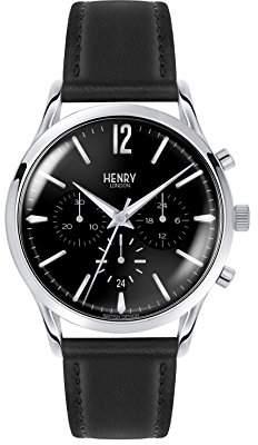 Fred Perry 0023 Henry London Unisex Watch Edgware Chronograph Quartz Leather HL41