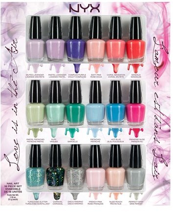 NYX 'Love is in the Air' Nail Polish Collection