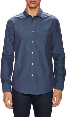 John Varvatos Collection Men's Slim Fit Adjustable Sleeves Sportshirt
