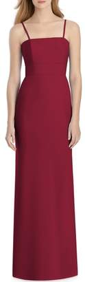 Lela Rose Bridesmaid Bow Back Crepe Gown