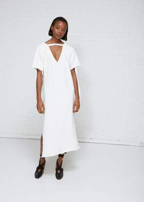 J.W.Anderson Deep V Jersey Dress