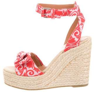 Marc by Marc Jacobs Floral Wedge Sandals w/ Tags