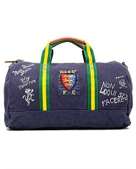 Polo Ralph Lauren Canvas Duffle Bag