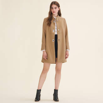 Maje Coat with decorative fastenings