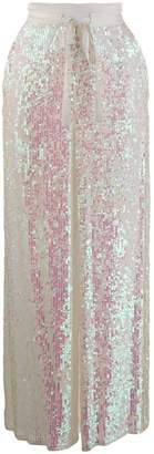 Temperley London Bia sequinned palazzo pants