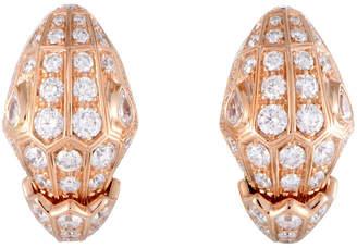 Bulgari 18K Rose Gold Earrings