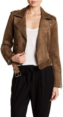 Dex Ultra Faux Suede Moto Jacket
