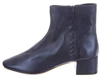 Loeffler Randall Carter Metallic Ankle Boots w/ Tags