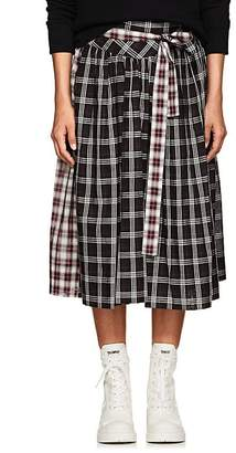Marc Jacobs Women's Plaid Cotton Belted Skirt