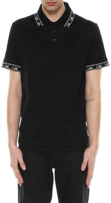 Saint Laurent Ikat Polo Shirt