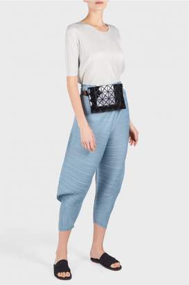 Pleats Please Issey Miyake Thicker Bounce Tapered Trousers