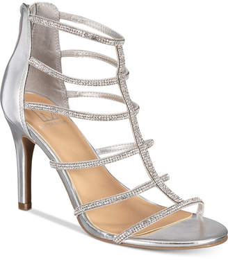 Material Girl Raissa Embellished Dress Sandals, Created for Macy's Women's Shoes