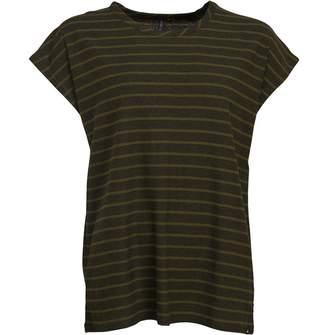 51da611a8fc9 Animal Womens Decked Deluxe Stripe T-Shirt Woodland Green