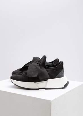 MM6 MAISON MARGIELA Grosgrain Lace Up Sneaker