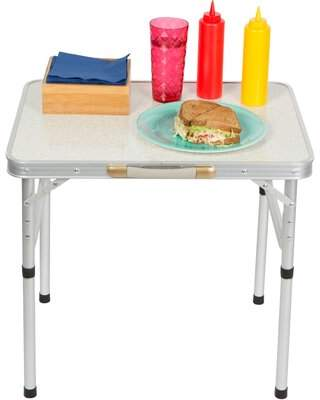 Trademark Innovations Vada Manufactured Wood Picnic Table Trademark Innovations