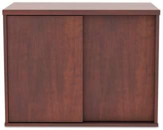 Latitude Run Tiernan Open Office Low Storage Cabinet Credenza Desk