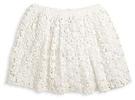 Ralph Lauren Little Girl's& Girl's Cotton Lace Skirt