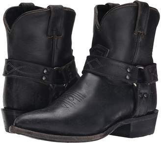 Frye Billy Harness Short Cowboy Boots