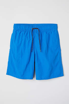 H&M Knee-length Swim Shorts - Blue