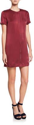 Equipment Noemy Short-Sleeve Mini Shift Dress