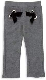 Lili Gaufrette Baby Girl's& Little Girl's Drawstring Joggers