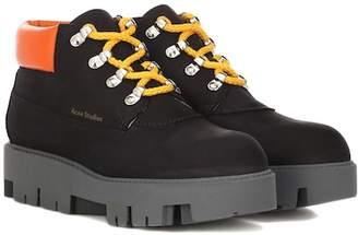 Acne Studios Tinnie nubuck ankle boots