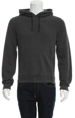 Prada Sport Woven Hooded Sweatshirt