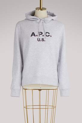 A.P.C. U.S. cotton hoodie