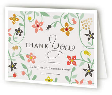 Sweet Homeness Moving Announcements Thank You Cards