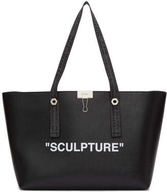 Off-White Off White Black Sculpture Shopping Tote
