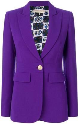 Emilio Pucci longline button-embellished blazer