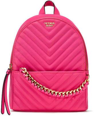 Victoria S Secret Victorias Pebbled V Quilt Small City Backpack