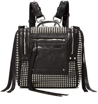 McQ - Alexander McQueen Stud Mini Convertible Box Backpack $990 thestylecure.com