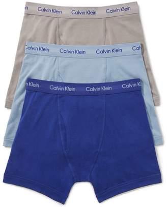 Calvin Klein Underwear Cotton Stretch Boxer Briefs 3-Pack