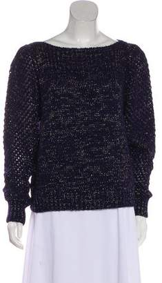 LoveShackFancy Baby Alpaca Metallic Sweater