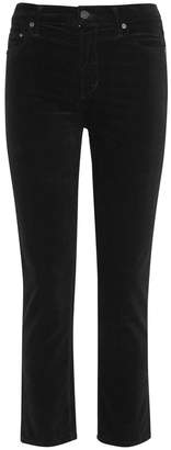 Citizens of Humanity Cara Cropped Velvet Trousers