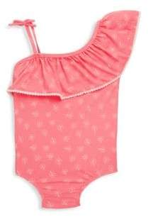 Jessica Simpson Baby's One-Piece Floral-Print Swimsuit