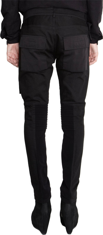 Rick Owens Memphis Paneled Leggings