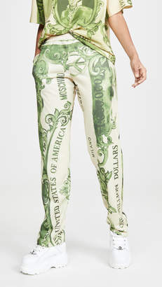 Moschino Dollar Bill Trousers