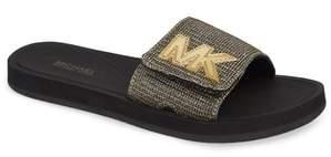 MICHAEL Michael Kors MK Logo Slide Sandal