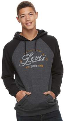Levi's Levis Men's Digs Fleece Pull-Over Hoodie