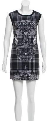 Philipp Plein Plaid Sleeveless Mini Dress w/ Tags