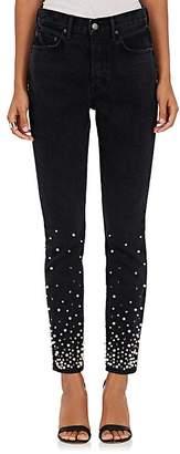 GRLFRND Women's Karolina Embellished Skinny Jeans