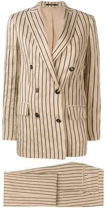 Tagliatore striped two-piece formal suit