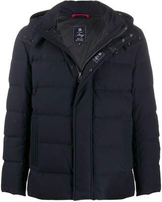 Fay concealed front padded jacket