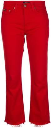 Polo Ralph Lauren raw hem bootcut jeans