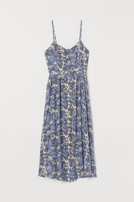 H&M Dress with Buttons - Beige